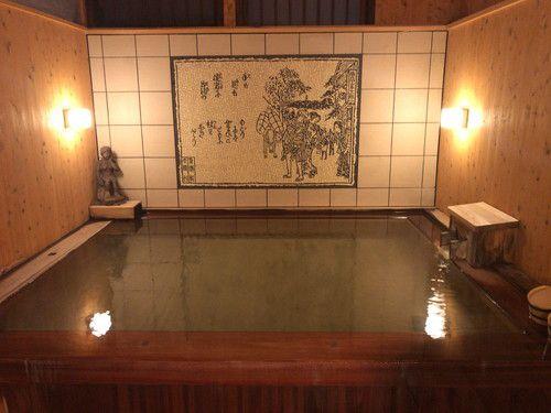 山本館 (温泉)関越道寄居ランチかつ丼と蕎麦定食と野菜炒め定食