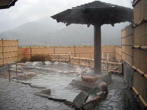 熊野川温泉さつき(新宮市) ①緑に囲まれた日帰り温泉