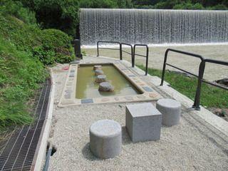 山形県 肘折温泉「初恋足湯」
