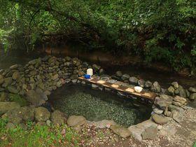 開放感が最高な川見野湯!北海道・養老牛温泉「からまつの湯」|北海道|LINEトラベルjp 旅行ガイド