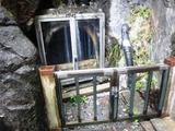 静岡県 梅ヶ島温泉 おゆのふるさと公園「岩風呂」「湯之島神社」