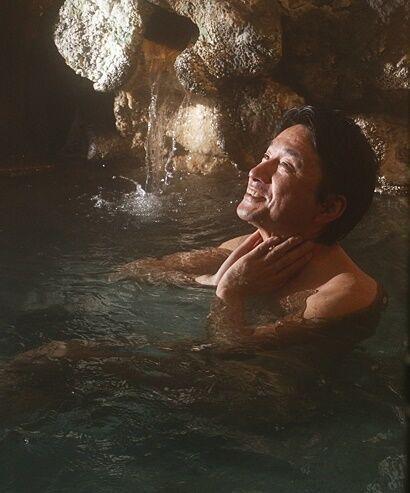 足元湧出温泉