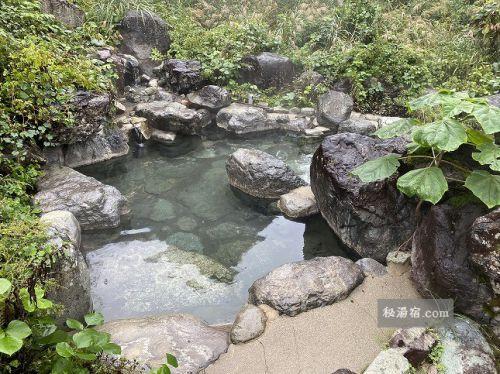 岩間温泉 山崎旅館 宿泊 その3 お風呂編