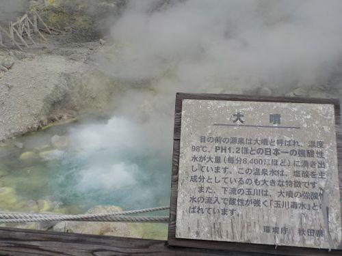【玉川温泉】天然岩盤浴ができる温泉